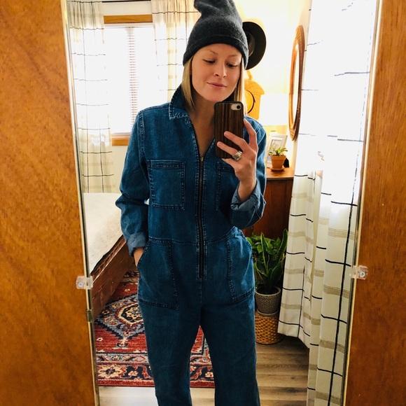 Wild Fable Womens Plus Size Blue Plaid Short Sleeve Twist Front Capri Jumpsuit